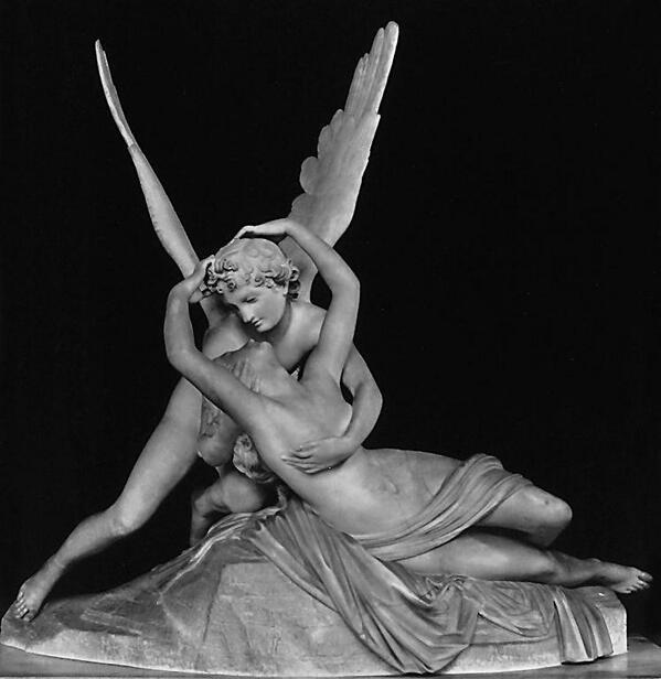 Cupido y Psique. Antonio Canova